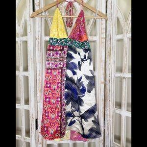 Alice & Trixi silk halter dress size xs